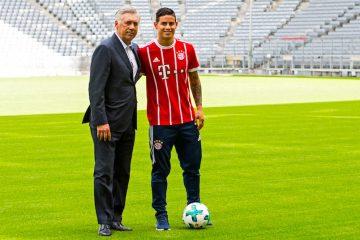 James no tiene garantía de ser titular en el Bayern