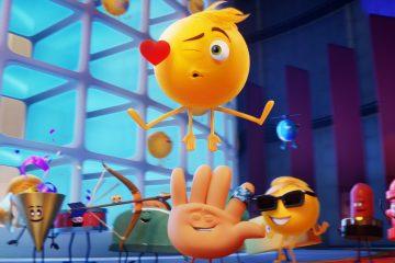 """Fotografía sin fecha cedida hoy por Sony Pictures que muestra un fotograma de la película """"The Emoji Movie"""". """"The Emoji Movie"""" y """"Atomic Blonde"""", los dos grandes estrenos de la semana en EE.UU., tratarán de arrebatar el número uno en la taquilla a """"Dunkirk"""", el filme bélico de Christopher Nolan. EFE/Sony Pictures/SOLO USO EDITORIAL/NO VENTAS"""