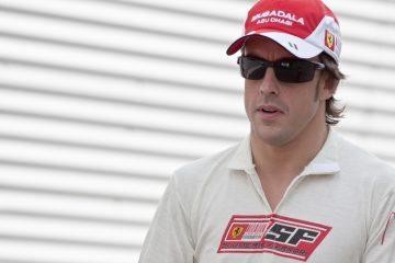 Alonso consiguió sus primeros dos puntos de la temporada al acabar noveno en el Gran Premio de Azerbaiyán, el octavo del Mundial de Fórmula Uno, disputado en la pista urbana de Baku el pasado 25 de junio. (Dreamstime)