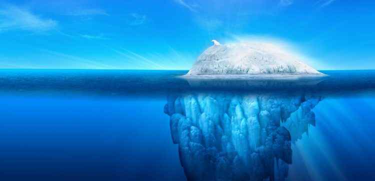 El nuevo iceberg, de unos 200 metros de grosor, no se desplazará ni muy rápido ni demasiado lejos a corto plazo, pero los científicos seguirán muy de cerca su evolución ante la posibilidad de que los vientos y la corrientes le empujen hacia el norte, donde puede convertirse en un peligro para la navegación. (Dreamstime)