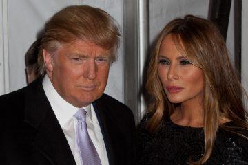 La primera dama de EEUU, Melania Trump, acompaña a su marido en esta gira europea, el segundo viaje internacional del presidente desde su llegada a la Casa Blanca el pasado 20 de enero. (Dreamstime)