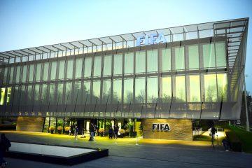 Edificio de la FIFA en Zurich, Switzerland. EPA/WALTER BIERI