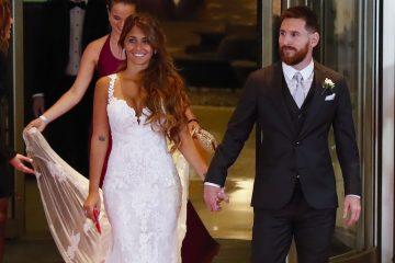 Messi y Roccuzzo se casaron en su Rosario natal