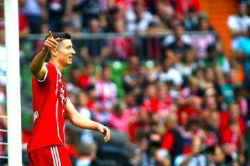 Bayern Munich's Robert Lewandowski  EFE/EPA/DAVID HECKER