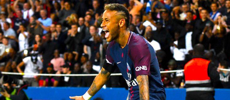 Paris Saint Germain's Neymar Jr EFE/EPA/CHRISTOPHE PETIT TESSON