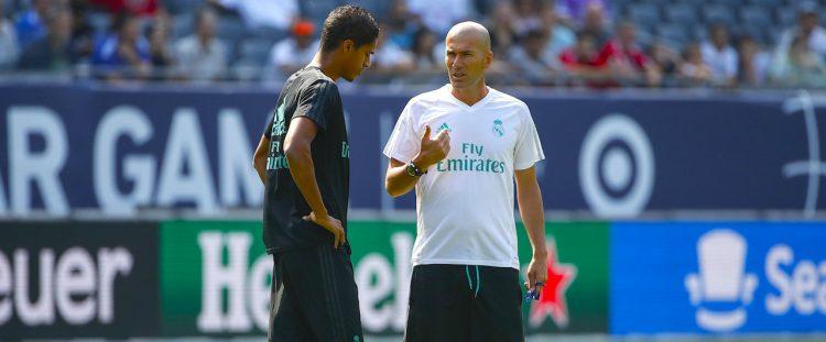 Zidane preocupado por la mala racha del Madrid
