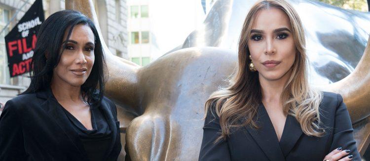 Raquel Ureña y Jessica Pereira han unido fuerzas para demostrar el orgullo latino en la Gran Manzana.