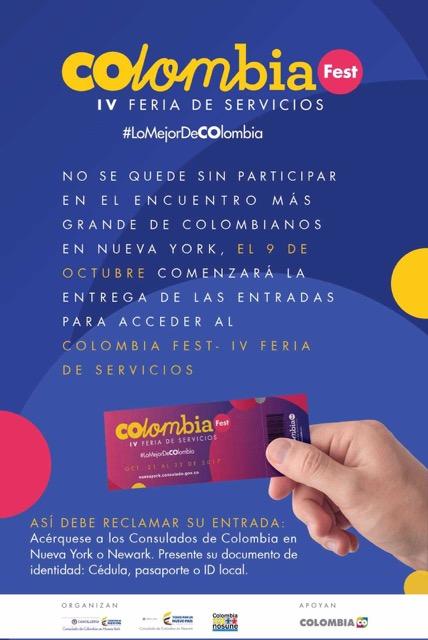artistas No te pierdas el Nueva York Colombia Fest – IV Feria de Servicios