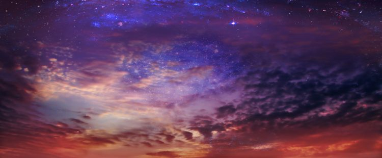Un equipo internacional anunció hoy que logró observar a través de su luz y sus ondas gravitacionales. (Dreamstime)