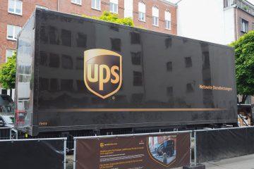 UPS detalló que su facturación en los nueve primeros meses fue de 47.043 millones de dólares, un 7 % más que en el mismo periodo del ejercicio anterior, de los que 28.929 millones corresponden a su actividad en Estados Unidos y 9.585 millones al exterior. (Dreamstime)
