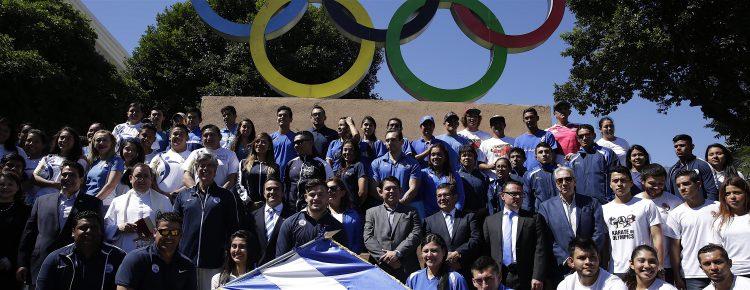 Según el dirigente, El Salvador, que será representado por unos 400 deportistas, podría obtener medallas en levantamiento de pesas, ajedrez, tenis y fisicoculturismo, kárate do, taekwondo y esgrima. (EFE)