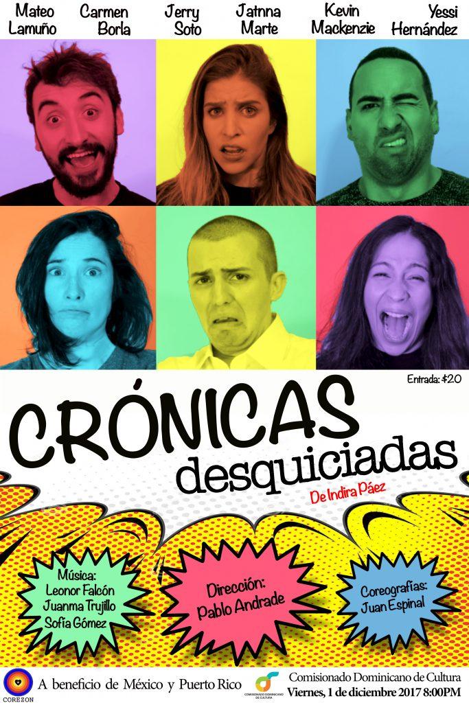 Crónicas-Desquiciadas-1-1024x684 Crónicas Desquiciadas estrena a beneficio de México y Puerto Rico