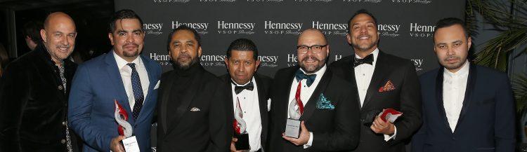 Los homenajeados posaron con el galardón en una noche mágica en la ciudad de Nueva York.