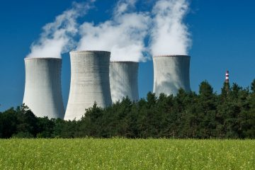 """En una rueda de prensa conjunta con Putin, el mandatario egipcio afirmó que han acordado """"construir la planta nuclear de Dabaa"""", siendo esta """"la primera planta de este tipo en Egipto"""". (Dreamstime)"""