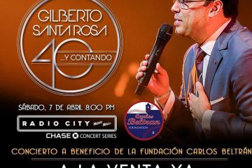 Gilberto Santa Rosa en el Radio City Music Hall
