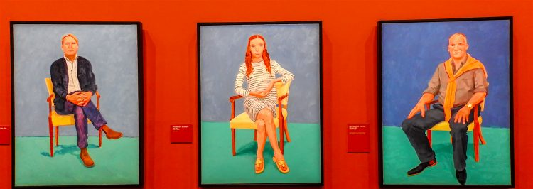 La pintura, una estrella de la reciente retrospectiva de Hockney, es propiedad de Joe Lewis, un multimillonario de Bahamas y propietario del equipo de fútbol del Tottenham Hotspur. (Dreamstime)