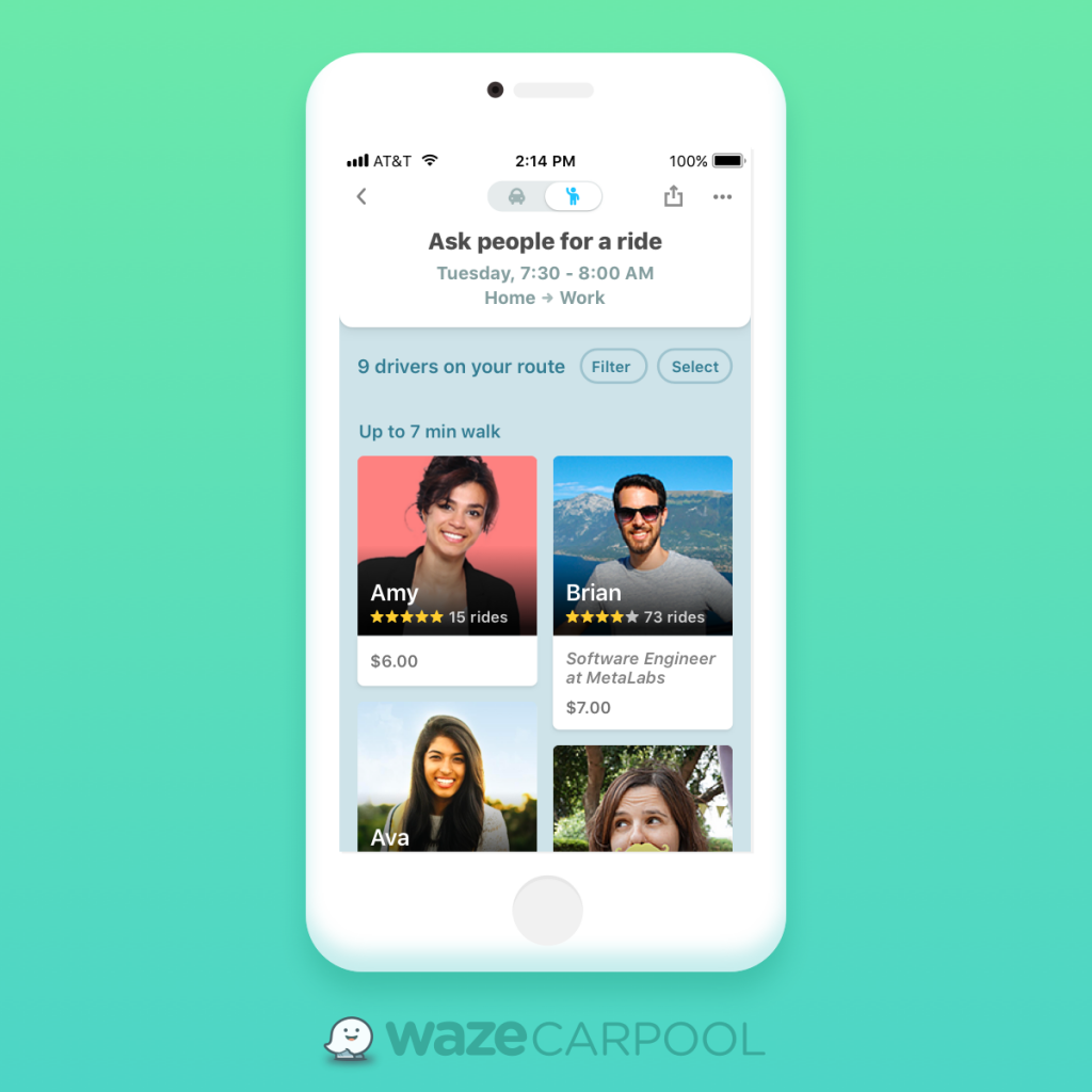 carpool-filters-1024x930 Waze Carpool se Expande a Nivel Nacional