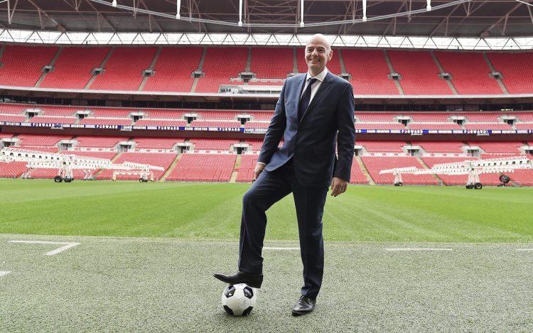 Gianni Infantino presidente de la FIFA.