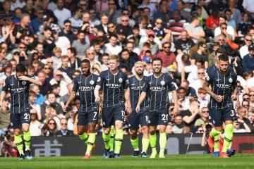 Jugadores del Manchester City . EFE