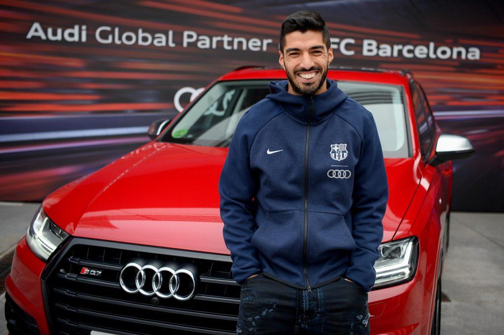 Suarez-1024x682 Cuáles son los automóviles de los jugadores del Barcelona