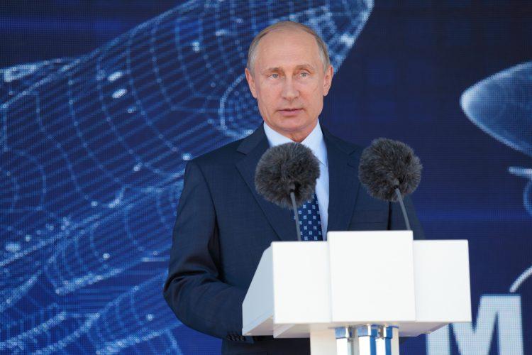 Dos días después, el 18 de marzo de 2014, Putin y los líderes de Crimea y Sebastopol firmaban en el Kremlin los tratados de incorporación de eso territorios en la Federación de Rusia.  (Dreamstime)