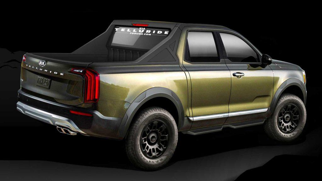kia-telluride-based-truck-renderings-1024x576 Kia está mirando de reojo el segmento de las pick medianas