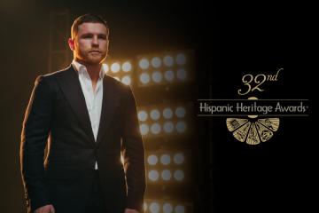 """La Fundación de Herencia Hispana anunció que el boxeador mexicano Saul """"Canelo"""" Álvarez recibirá el Premio de Herencia Hispana por Deportes."""