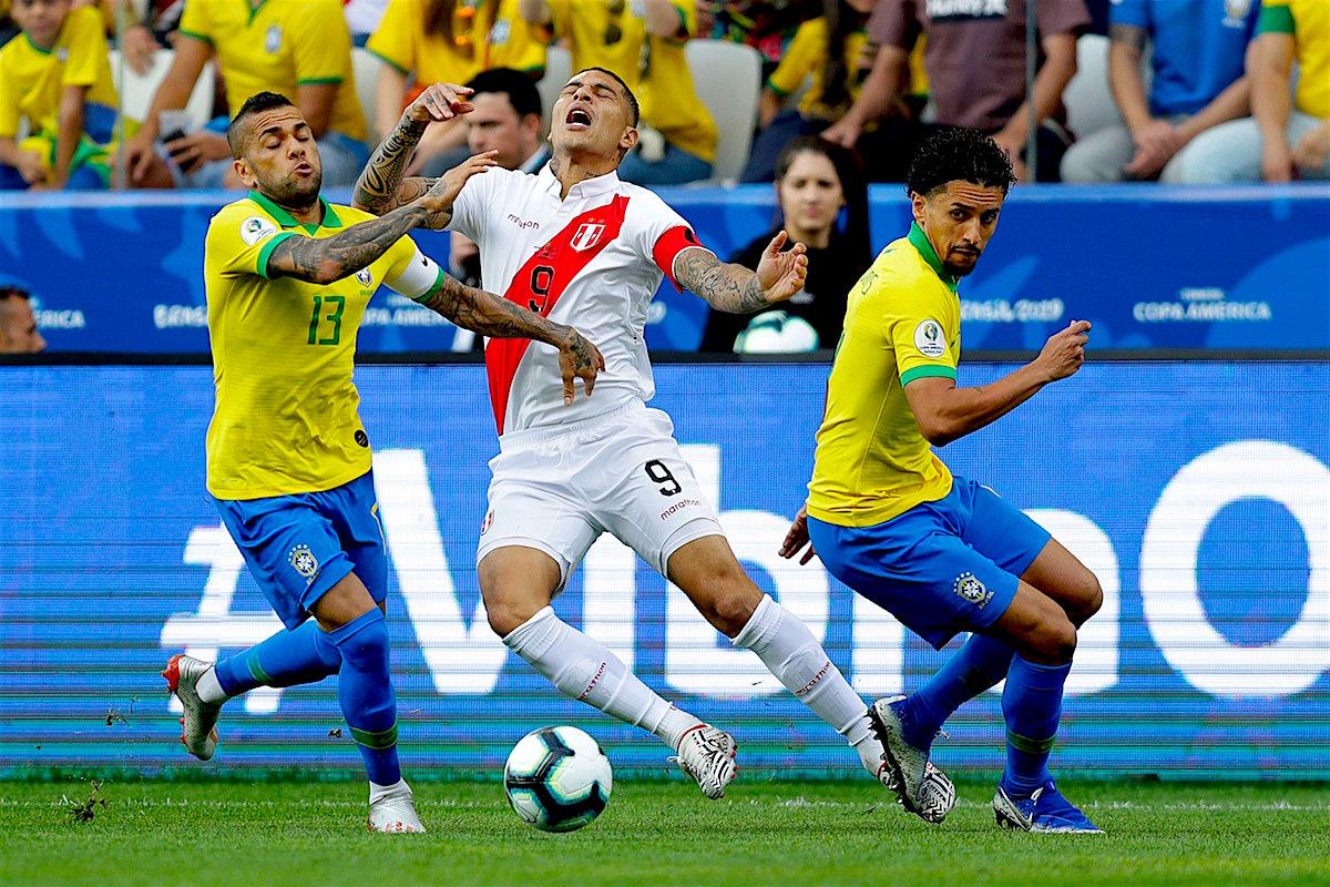 peru Brasil sin piedad ni pena golea 5-0 a Perú