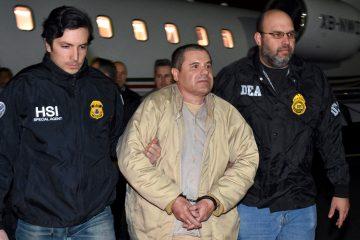 Cadena Perpetua para el máximo líder del narcotráfico mexicano. (EFE)