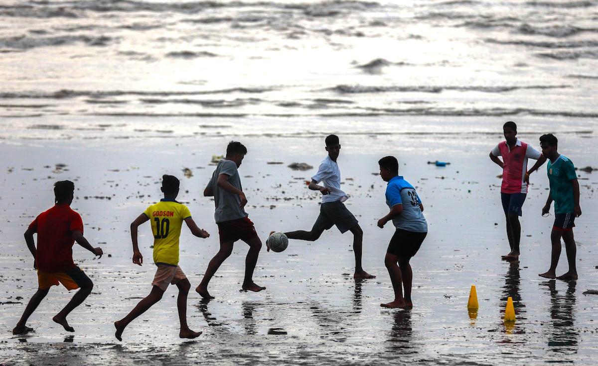 India2 El fútbol, un acto de rebeldía para los niños más pobres de la India