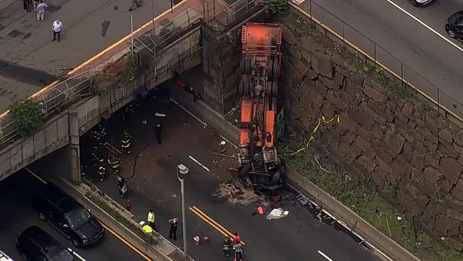 Accidente en Union City, NJ.