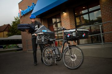 Domino's E-Bike.