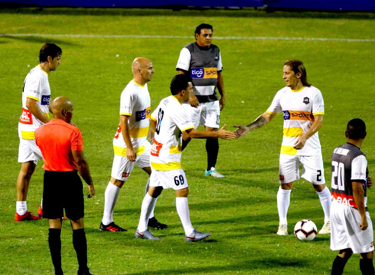 Leyendas-del-deporte Duelo de leyendas, entre ellos Materazzi, Cambiasso, vencen a Honduras
