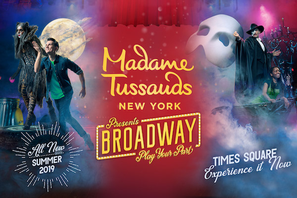Madame Tussauds Broadway. La nueva aventura que no te podrás perder.