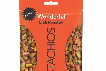 Wonderful Pistachios No Shells Chili Roasted.