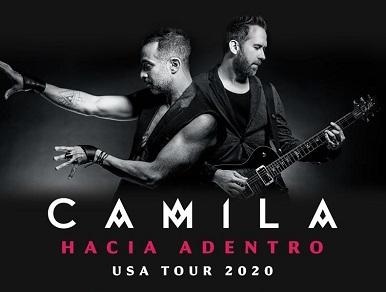 "CAMILA presenta su gira  ""Hacia Adentro""."