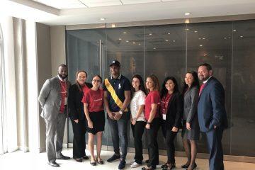 Bank of America junto al Yankee Miguel Andújar y la Federación Hispana inician el mes de la Herencia Hispana con programa educativo para estudiantes en Nueva York.