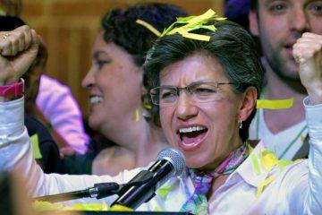 La alcaldesa electa de Bogotá, Claudia López.