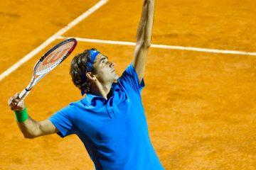 Será la primera vez que Federer, campeón de 20 torneos Grand Slam, dispute un partido en Chile. (Dreamstime)