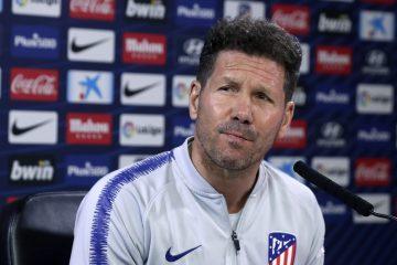 Diego Simeone, entrenador del Atlético de Madrid