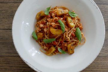 Barilla Collezione Spaghetti con Pavo.