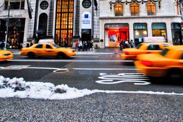 Aunque las condiciones no serán tan adversas en Nueva York y en Pensilvania, el servicio meteorológico advirtió de que habrá acumulación de hielo y nieve en estos dos estados. (Dreamstime)