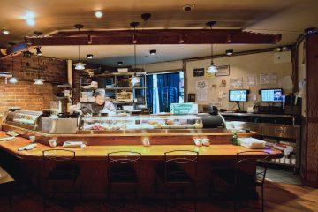 Mizu Sushi Bar.