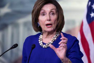"""Para la líder demócrata, las palabras del mandatario ante el Congreso fueron """"un manifiesto de falsedades"""". (EFE)"""