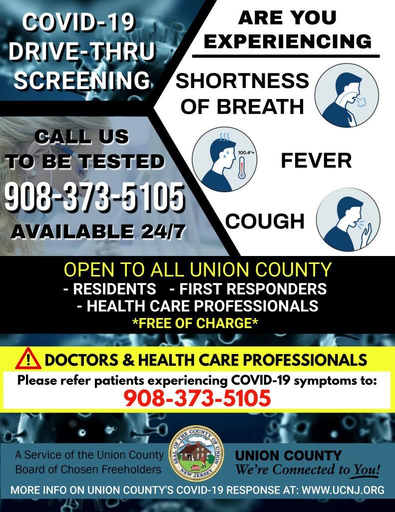 FINAL-COVID-FLYER-1-791x1024 Nuevas Pautas del Centro de Pruebas COVID-19 del Condado de Union Comienzan Hoy