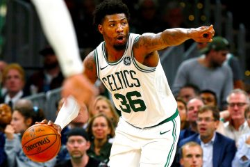 El Guarda Marcus Smart de los Boston Celtics