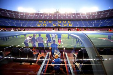 "The right of FC Barcelona's stadium's name ""Camp Nou"" to be sold to raise funds in the fight against the Coronavirus pandemic"