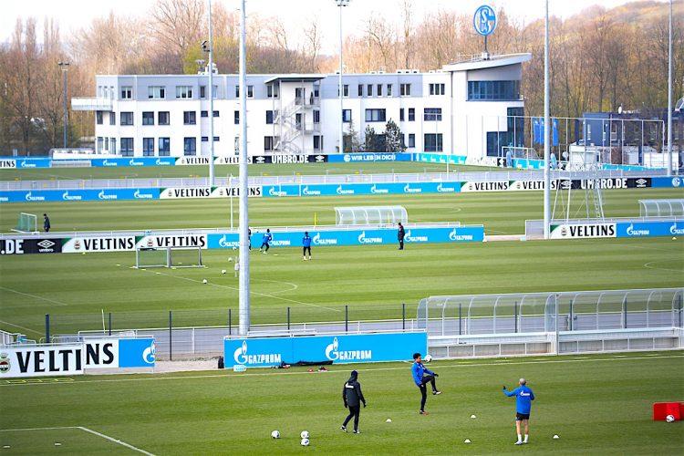 FC Schalke 04 training
