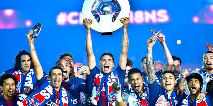 Paris Saint-Germain proclaimed Ligue 1 champions