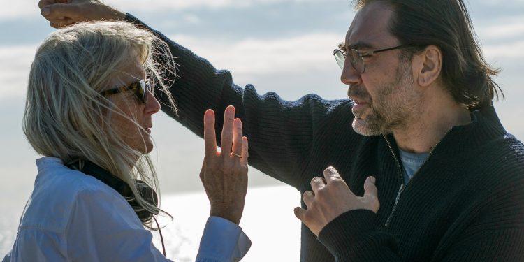 Sally Potter y Javier Bardem .